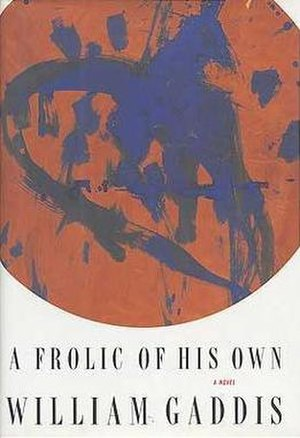 A Frolic of His Own - First edition cover