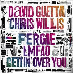 Gettin' Over You - Image: Gettin' Over You (feat. Fergie & LMFAO) Single