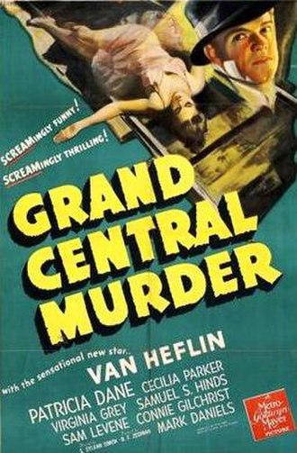 Grand Central Murder - theatrical poster