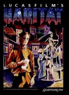 <i>Habitat</i> (video game) 1986 video game