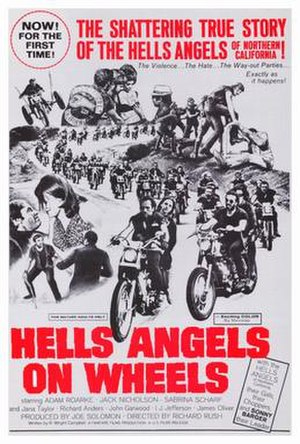 Hells Angels on Wheels - Theatrical release poster