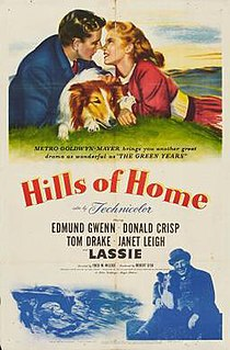 <i>Hills of Home</i> (film) 1948 film by Fred M. Wilcox