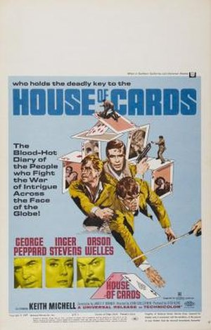 House of Cards (1968 film) - Image: House of Cards Film Poster
