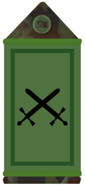 Commandant (rank) - Image: IE Army OF3
