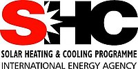 Logo of International Energy Agency Solar Heating and Cooling Programme (IEA SHC)