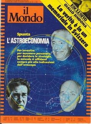 Il Mondo (magazine) - Cover of Il Mondo, 24 August 1979