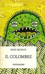 <i>Il colombre</i> short story collection by the Italian writer Dino Buzzati