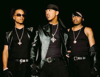 IMx American R&B group