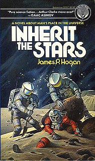 Giants (series) Group of five science fiction novels by James P. Hogan