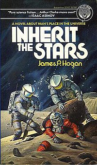 Cover of Inherit The Stars, the first book in the Series.