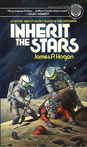 Giants (series) - Cover of Inherit The Stars, the first book in the series.