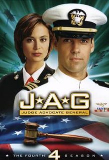 <i>JAG</i> (season 4) Season of television series