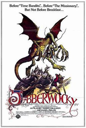 Jabberwocky (film) - Theatrical re-release poster