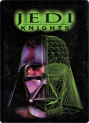 Jedi Knights Trading Card Game - Jedi Knights TCG 1st print booster pack