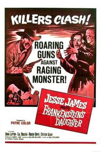 Jesse James Meets Frankenstein's Daughter - Theatrical release poster