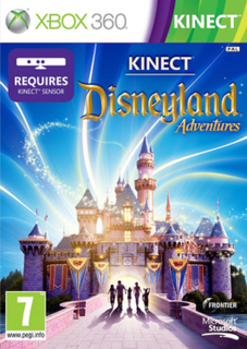 <i>Kinect: Disneyland Adventures</i> 2011 open world video game taking place at Disneyland Park in California