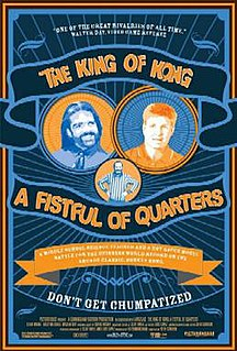 <i>The King of Kong</i> 2007 documentary film directed by Seth Gordon
