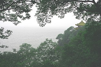 Lake Tai - Lake scene at Wuxi