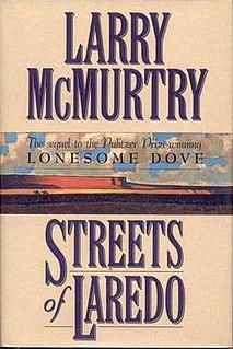 <i>Streets of Laredo</i> (novel) book by Larry McMurtry