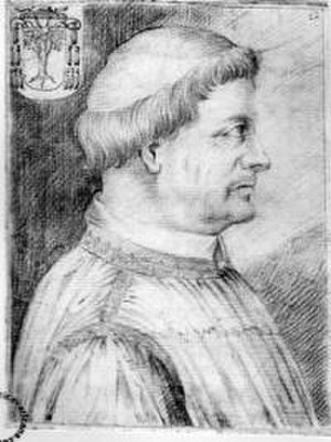 Pope Julius II - Leonardo Grosso della Rovere, the fourth cardinal-nephew of Julius II, accompanied him on his military campaigns in Bologna and Perugia, and served as his ambassador to France.