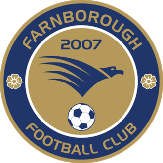 Farnborough F.C. - Image: Logo Farnborough FC