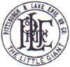 Logo of the Pittsburgh and Lake Erie Railroad.png