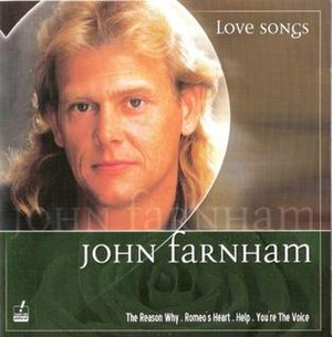 Love Songs (John Farnham album) - Image: Love Songs by John Farnham