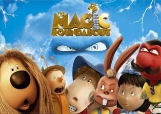 The Magic Roundabout (film) - Theatrical release poster