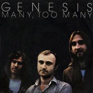 Many Too Many - Image: Many Too Many Single