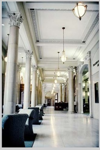 Cecil C. Humphreys School of Law - Main lobby of University of Memphis School of Law