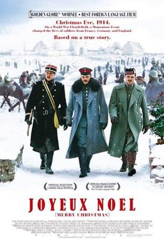 Joyeux Noël - Theatrical release poster