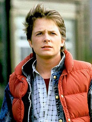 Marty McFly - Michael J. Fox as Marty McFly