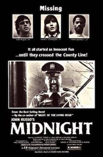 Midnight (1982 film) - Image: Midnight 1980s film poster