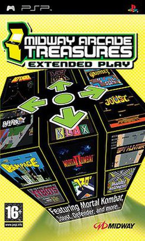 Midway Arcade Treasures: Extended Play - Image: Midway Arcade Treasures