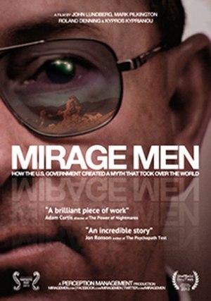 Mirage Men - Image: Mirage Men poster