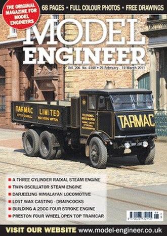 Model Engineer - Sample cover