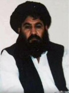 Akhtar Mansour Former leader of the Taliban (c. 1968–2016)