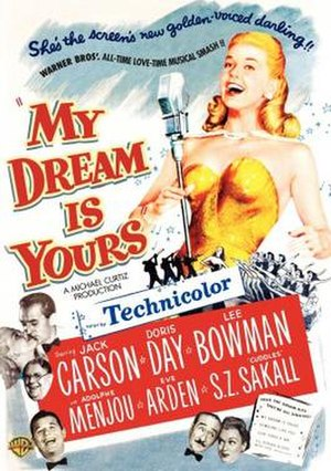My Dream Is Yours - Theatrical release poster