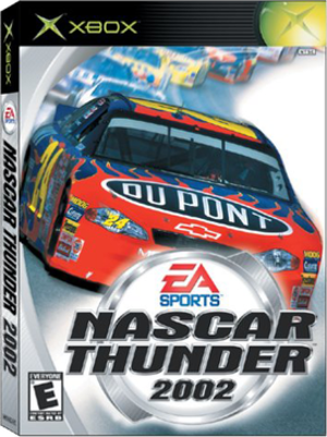 NASCAR Thunder 2002 - NASCAR 2002 cover art