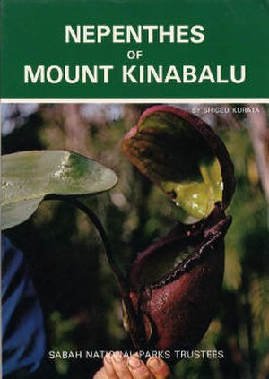 Nepenthes of Mount Kinabalu - Cover showing N. rajah