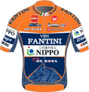 Nippo–Vini Fantini - Image: Nippo–Vini Fantini jersey