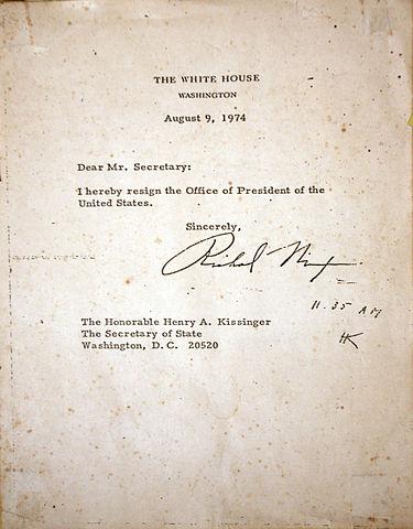 file:nixon resignation letter - wikipedia