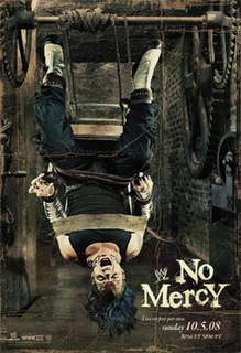 No Mercy (2008) 2008 World Wrestling Entertainment pay-per-view event