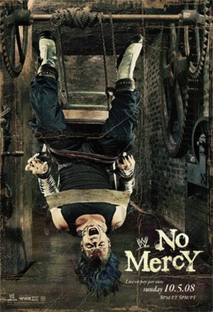 No Mercy (2008) - Promotional poster featuring Jeff Hardy