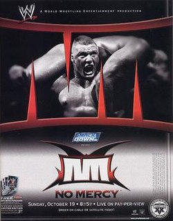 No Mercy (2003) 2003 World Wrestling Entertainment pay-per-view event