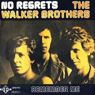 No Regrets (Tom Rush song) - Image: No regrets single sleeve