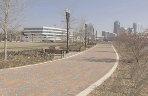 Jacksonville Riverwalks - Newest section of Northbank Riverwalk