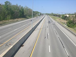 Ohio State Route 2 - Image: Ohio State Route 2 in Mentor
