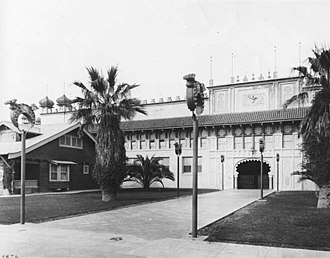 Shrine Auditorium - The old Shrine Auditorium, 1910.