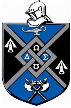 Omega Delta Sigma - Image: Omega Delta Sigma coa